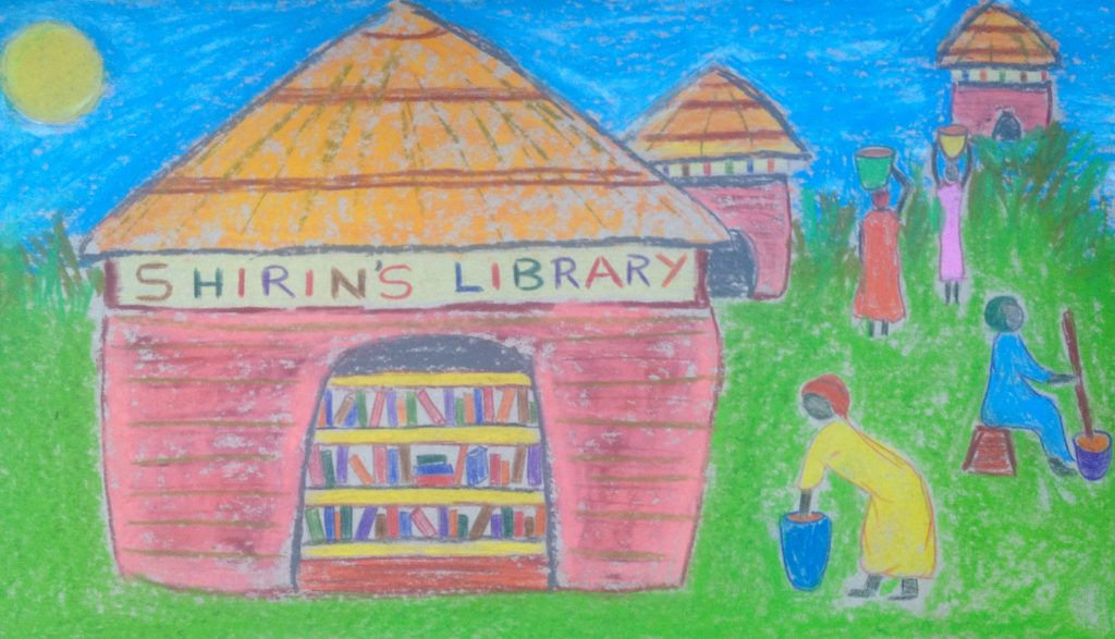 drawingshirin'slibrary